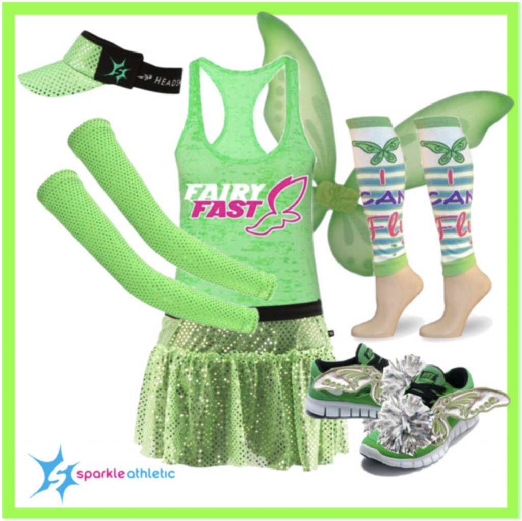 Lime Fairy Running Costume  sc 1 st  Sparkle Athletic & Sparkle Athletic Pixie Inspired Running Costume Guide | Sparkle Athletic