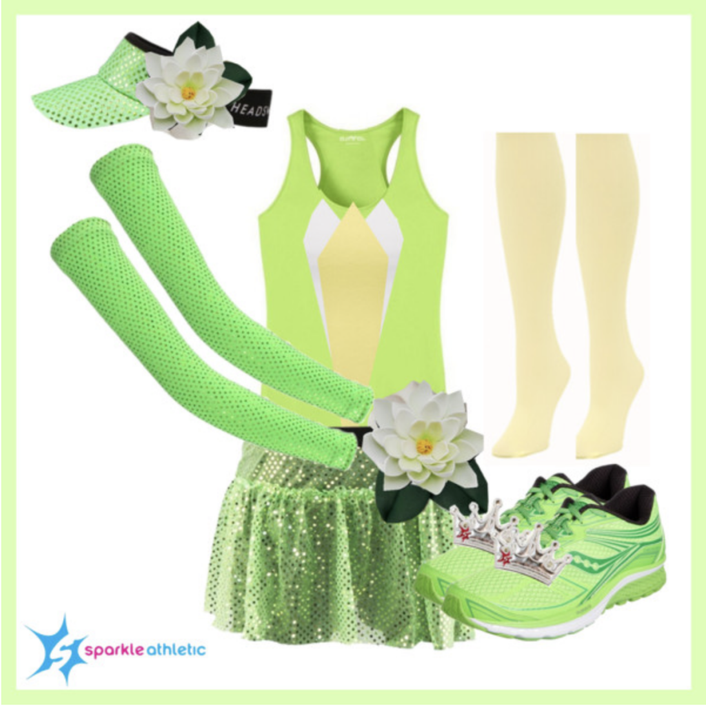 Princess Tiana Shoes: Sparkle Athletic Princess Inspired Running Costume Guide