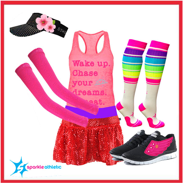 easy mulan running costume for the runDisney Princess races