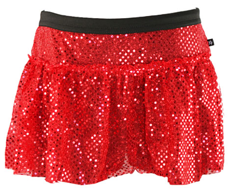 red-sparkle-running-skirt