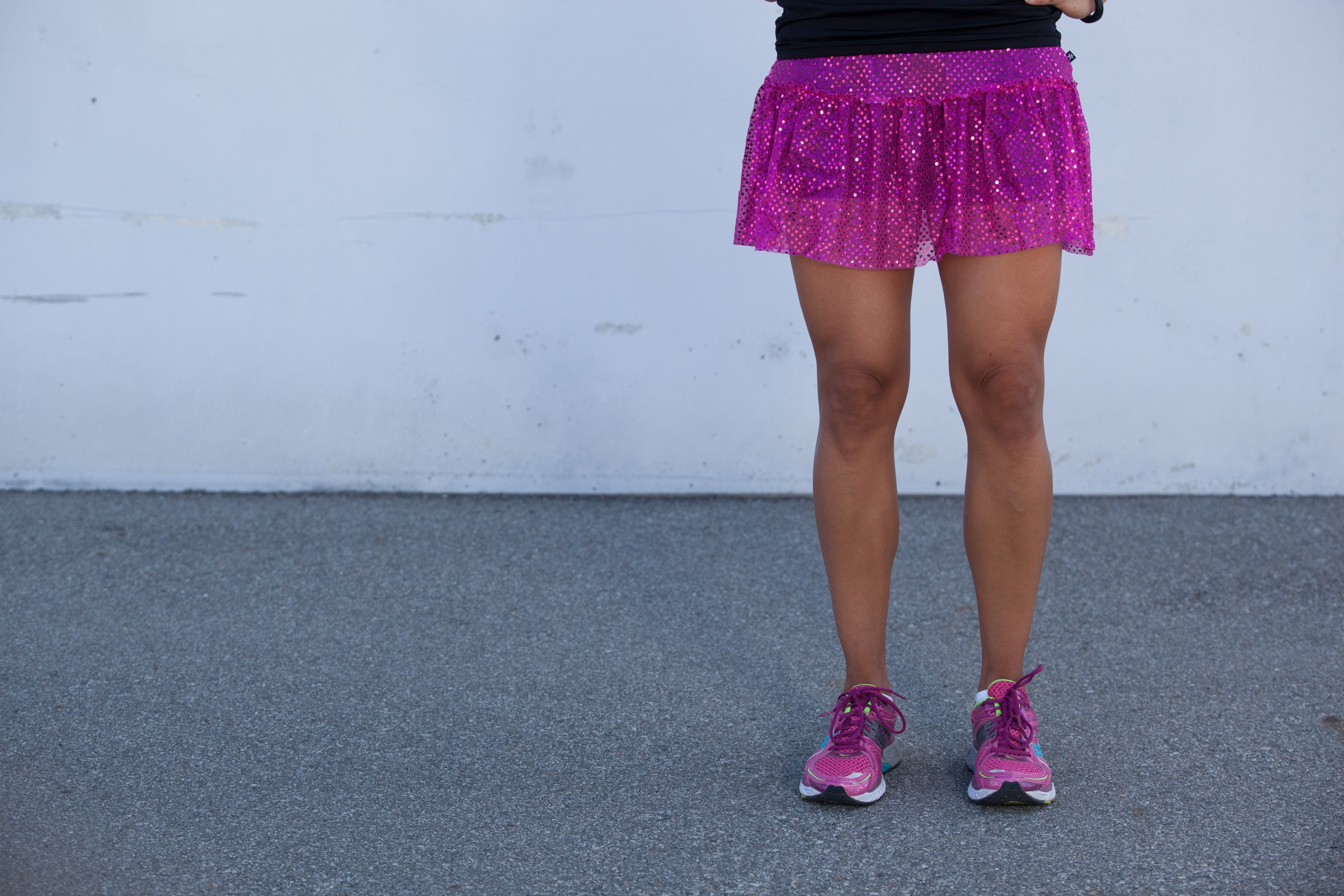 Home purple sparkle - Purple Sparkle Running Skirt