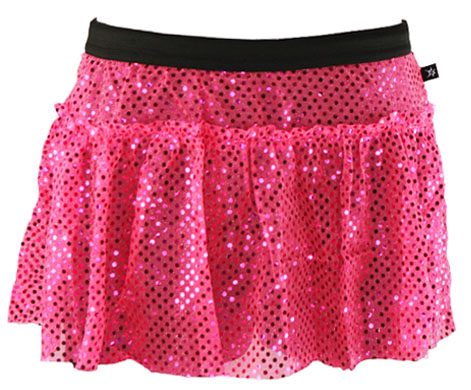 pink-sparkle-running-skirt