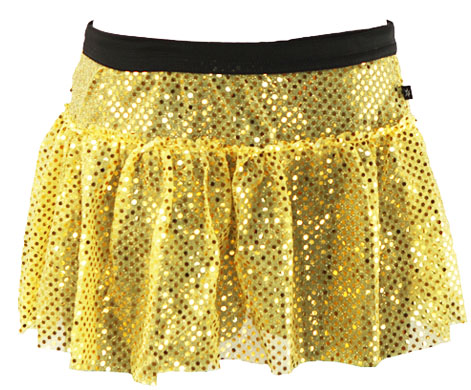 yellow-sparkle-running-skirt