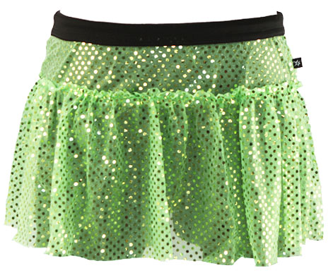 lime-green-sparkle-running-skirt