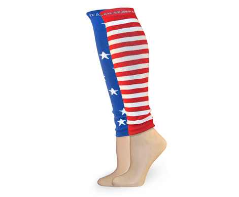 stars stripes race legs