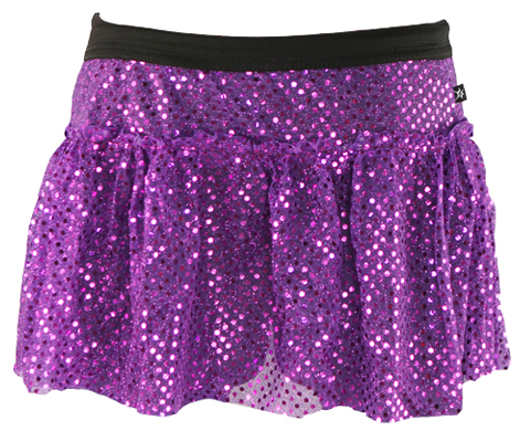 purple-sparkle-running-skirt
