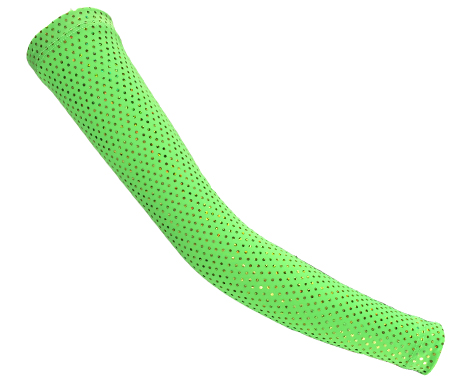 neon-green-compression-sleeves