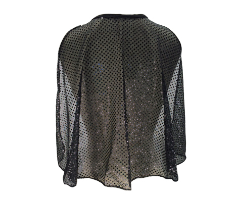 black-sparkle-cape-back