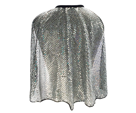 gunmetal-sparkle-cape-back