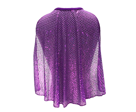 purple-sparkle-cape-back