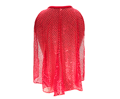 red-sparkle-cape-back