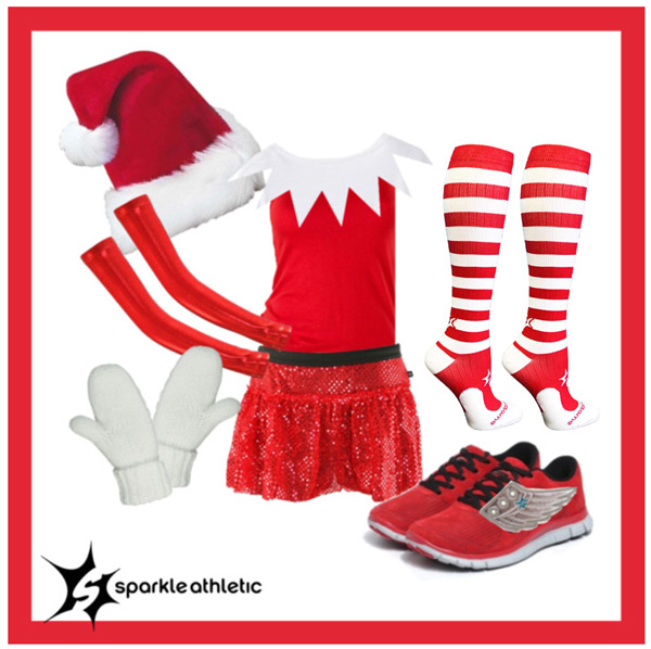 elf on the shelf running costume