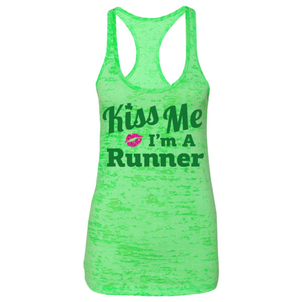 kiss-me-im-a-runner-racerback-tank-top