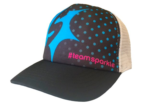 Sparkle Athletic Burst Trucker Hat