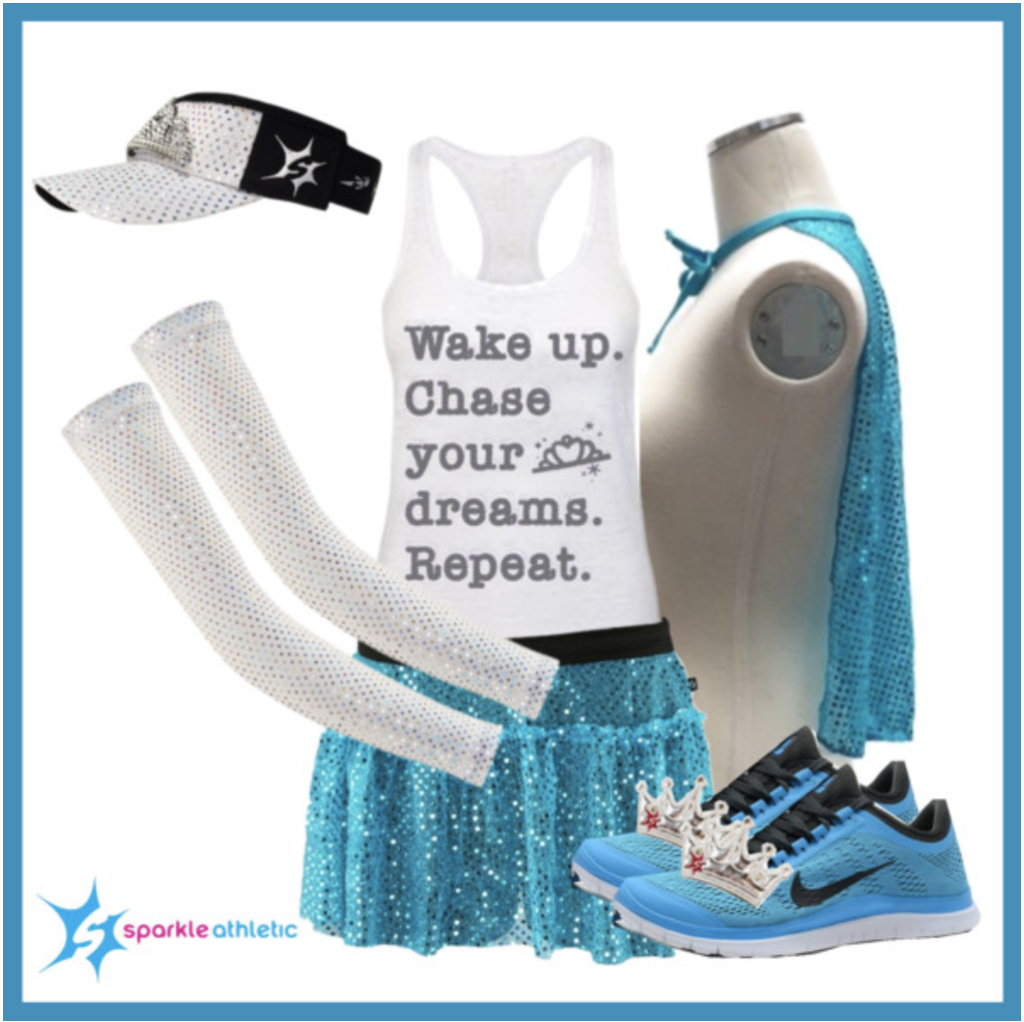 Queen Elsa Running Costume for runDisney races