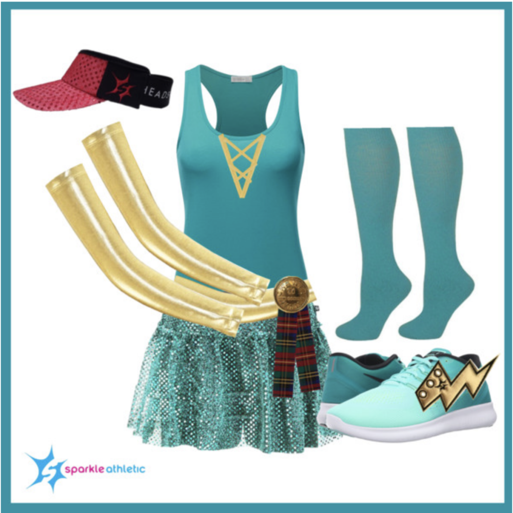 princess Merida running costume for runDisney races