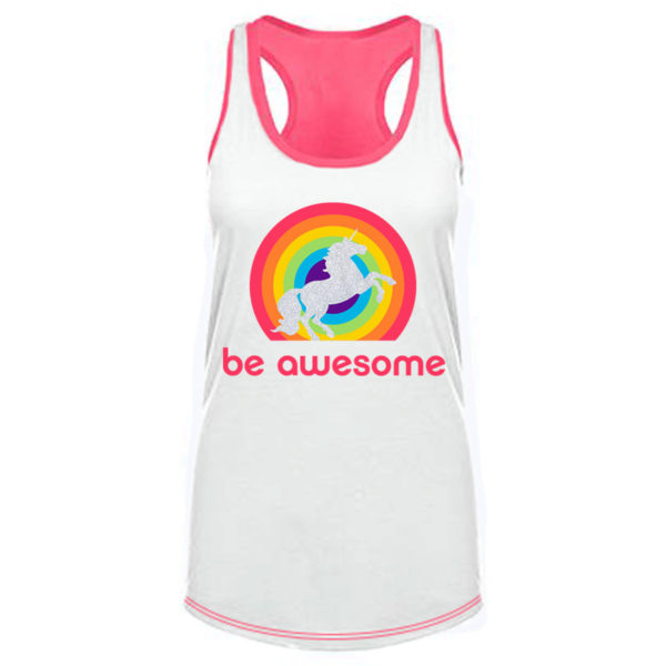 be-awesome-unicorn-tank-top