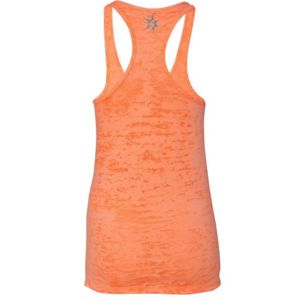 orange tank top back