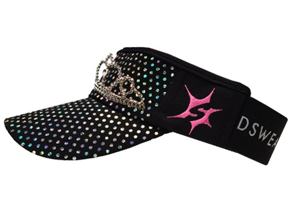 midnight-black-sparkle-tiara-headsweats-visor