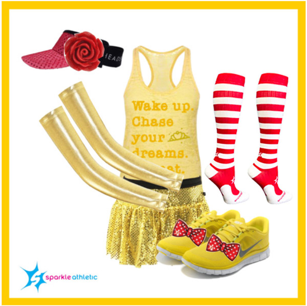 belle running costume for runDisney