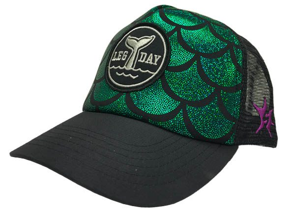 mermaid-trucker-hat