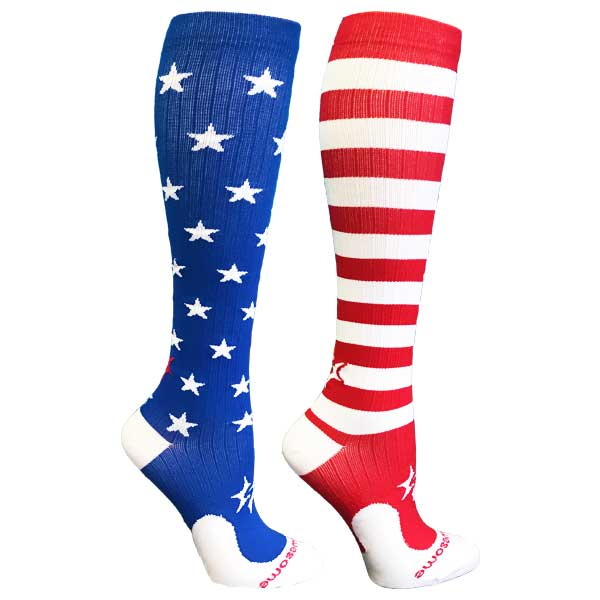 stars-and-stripes-procompression-compression-socks