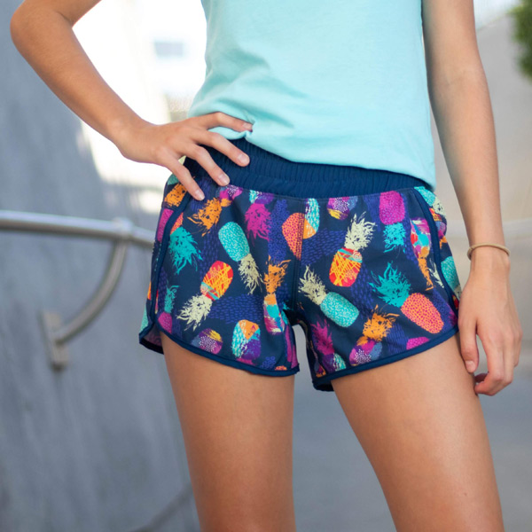 sparkle-athletic-pineapple-running-shorts-cropped