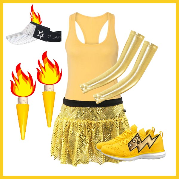 lumiere running costume