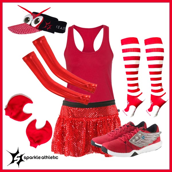 Sebastian little mermaid running costume