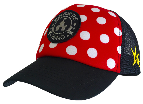 4adaa82058a Red with White Polka Dots Headsweats Trucker Hat