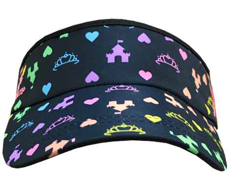 princess running visor front