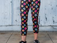 model wearing Donut Running Leggings