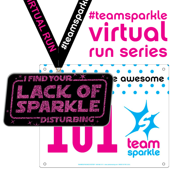 Star Wars #teamsparkle virtual run